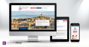 Refonte du design du site internet médical en chirurgie esthétique à Marseille