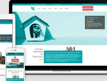 Refonte du site internet d'une clinique vétérinaire