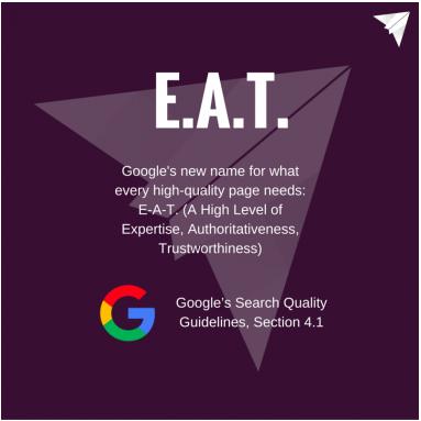 référencement google en anglais